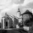 farský kostol s Pisárskou (Gallovou) baštou