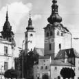 barbakan s farským kostolom
