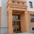 """Katolícke gymnázium Š. Moyzesa v mestskom parku (pôvodne budova sirotinca """"Vincentinum"""")"""