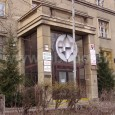 budova bývalého Zborového veliteľstva (Československej armády č. 7) - presklenie vstupu už  nie je pôvodné