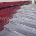 schody vo vstupe do Porges paloty (vchod z Kukučínovej ulici č. 5)