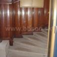 schodisko s pôvodným dreveným obkladom - Porges palota