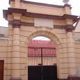 biskupská rezidencia (brána v Lazovnej ulici)