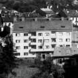 bytový dom Penzijného fondu zamestnancov Národnej banky československej pri pohľade z Urpína (Kuzmányho č. 6)
