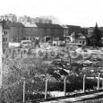 1961 - príprava staveniska pre budovu krajského výboru KSS (dnes budova generálneho riaditeľstva Slovenskej pošty)