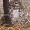 hrob rodiny Bárczyovcov na starom evanjelickom cintoríne v Radvani