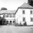 stav kaštieľa v roku 1988