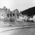 asanácia domov na konci Dolnej ulice (rok 1974)