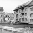 rekonštrukcia cesty a chodníkov v Národnej ulici (rok 1958)