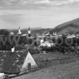 """pohľad na mesto sponad mestského parku """"od medokýša"""""""