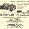 dobová reklama - predaj automobilov značky FORD