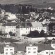 budova seminára v roku 1935 pri pohľade z Urpína
