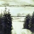 pohľad na mesto zo skokanského mostíka (rok 1934)