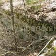 pozostatky skokanského mostíka (odrazová hrana)