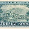 na reverze 50 korunovej bankovky z roku 1948 bola vyobrazená Banská Bystrica