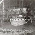 slávnostné zhromaždenie pri soche gen. M. R. Štefánika (rok 1941)