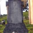 náhrobný kameň rodiny Peierbergerovcov na rímsko - katolíckom cintoríne