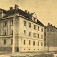 novopostavené domy na ulici Československej armády na zábere z roku 1927