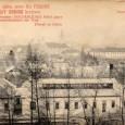 reklama na MARGIT krém na prednej strane pohľadnice zobrazujúcej pohľad z Urpína na mesto