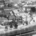 pohľad na dnes už neexistujúcu zástavbu (rok 1939)
