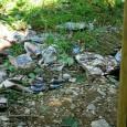 skládka odpadkov