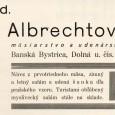 dobová reklama (1932)