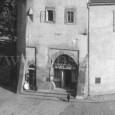 rok 1928 - mäsiarstvo A. Veljačika v priestoroch barbakanu