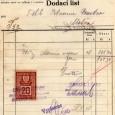 dodací list z mäsiarstva bratov Lányikovcov