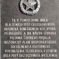 pôvodná pamätná tabuľa