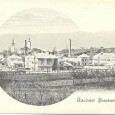 rok 1894 - pohľad z Banoša na novopostavené mestské kasárne na dnešnej Skuteckého ulici