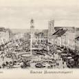 rok 1895 - pohľad na Hlavné námestie