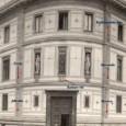 umiestnenie Rašínovho štítu a zemských znakov na fasáde budovy národnej banky