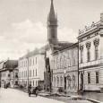 budovy bývalého kláštora s kostolom Sv. Alžbety na konci Dolnej ulice