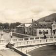 budova parných a vaňových kúpeľov v roku 1928