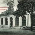 budova kolkárne v roku 1907 na pohľadnici z vydavateľstva Adolf Walthera