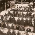 účastníci X. zjazdu Slovenskej evanjelickej mládeže pred kolkárňou v roku 1931 (otvorenú verandu v ľavej časti záberu pristavali pred hlavnú budovu v období  I. ČSR)