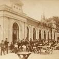 dobová atmosféra pred kolkárňou v roku 1885
