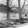 búranie kolkárne v apríli roku 1986 (foto: Pavol Scholtz)