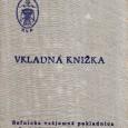 vkladná knižka z banskobystrickej RVP