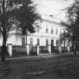 celkový pohľad na posádkovú nemocnicu v roku 1925