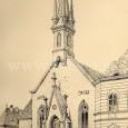 kostol sv. Alžbety po neogotickej prestavbe v roku 1876