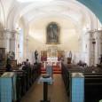 interiér kostola v roku 2014