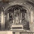 interiér kostola v roku 1910