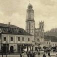 pôvodný dom na Námestí Š. Moysesa č. 8 v roku 1905