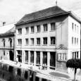 budova sporiteľne v roku 1957 (foto: V. Hyhlík)