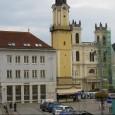 budova dnes už Slovenskej sporiteľne a. s., v roku 2014