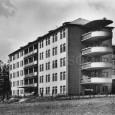 novopostavený chirurgický pavilón v roku 1955