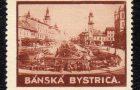 Banská Bystrica na poštových zálepkách