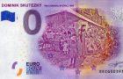 Nová 0 Euro souvenir bankovka – Dominik Skutecký
