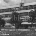 budova učiteľského ústavu na pohľadnici z roku 1943